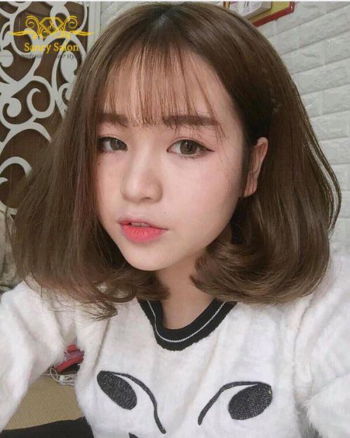 Tổng hợp những Kiểu tóc ngắn hợp với khuôn mặt tròn béo
